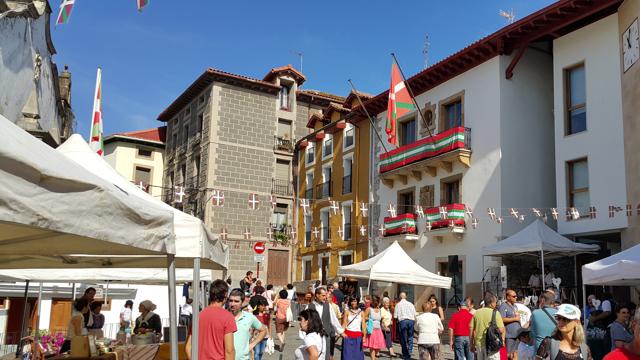 La festa basca de Zumaia