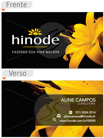 cartao de visita hinode porto alegre - Cartões de Visita Hinode