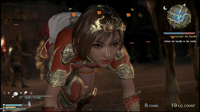 PS4 Dynasty Warriors game