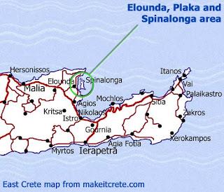 spinalonga kart Rose Maries litteratur  og filmblogg: Spinalonga   de spedalskes øy spinalonga kart