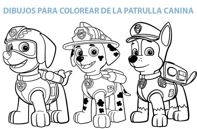 Dibujos Para Pintar Patrulla Canina Gratis Descarga Gratis Dibujos