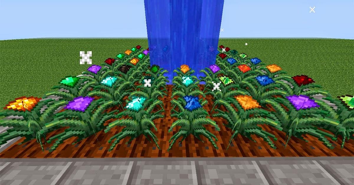 minecraft mod magical crops