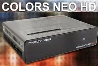 Resultado de imagem para NEONSAT COLORS HD