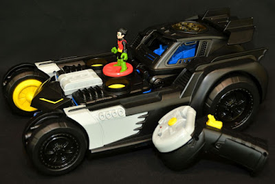 Transforming Batmobile RC