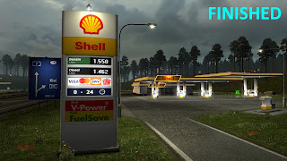 recommendedmodsets2, ets2 mods, euro truck simulator 2 mods, ets2 graphic mod, ets 2 realistic gas stations, ets 1.32, ets 2 real european gas station reloaded v1.32 screenshots 1