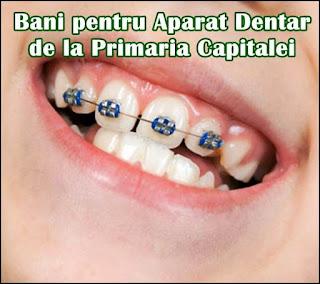 dosar bani pentru aparat dentar copii elevi bucuresti