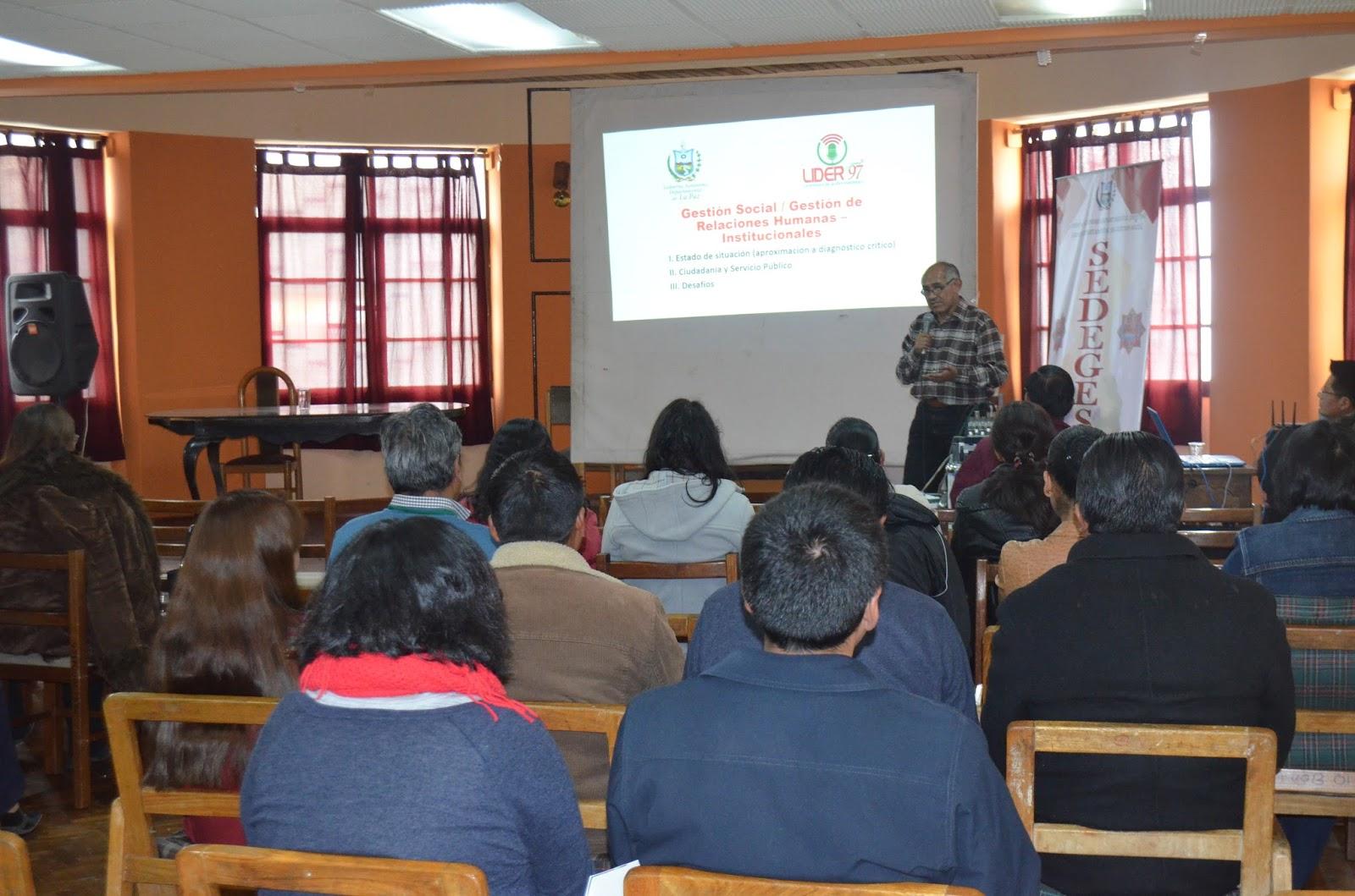 Edgar Ramos se refirió sobre puntos que afectan a la imagen institucional del SEDEGES