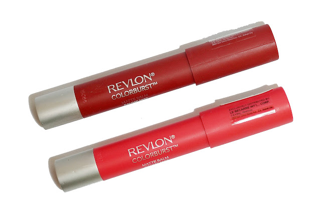 Revlon ColorBurst Matte Balm in Unapologetic (210) & Standout (250)