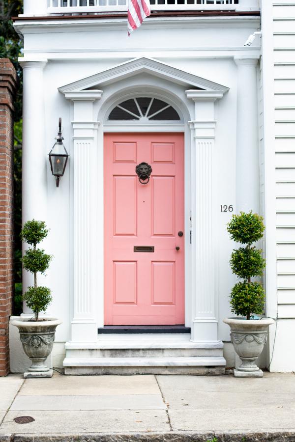 126 Tradd Street Door