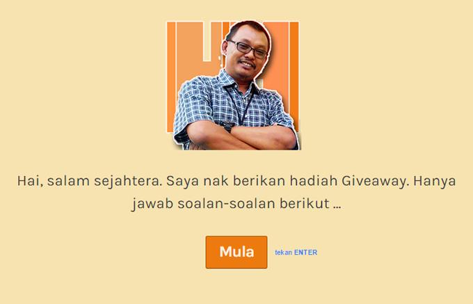 Giveaway Syukur Selalu
