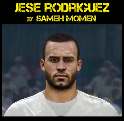 PES 2016 Jese Rodriguez face by sameh Momen