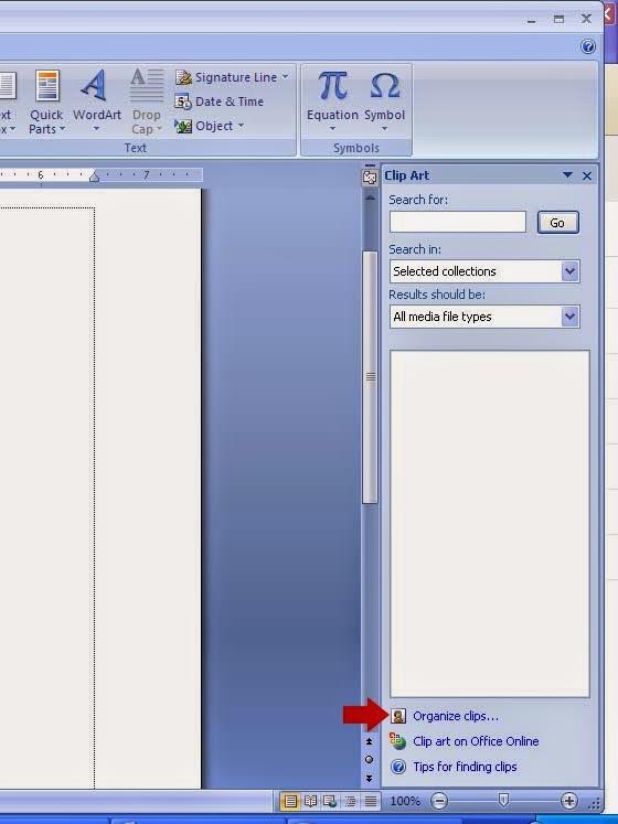Cara Memindahkan Gambar Di Word : memindahkan, gambar, Insert, Clipart, (memasukan, Lembaran, Kerja, Office