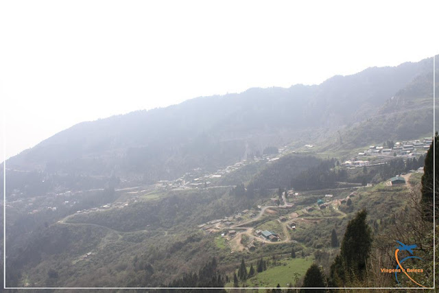 Estradas sinuosas de Sikkim, Índia