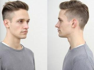 Gaya Model Rambut Pria Wajah Kotak Persegi