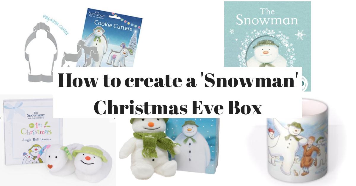 How to Create a 'Snowman' Christmas Eve Box