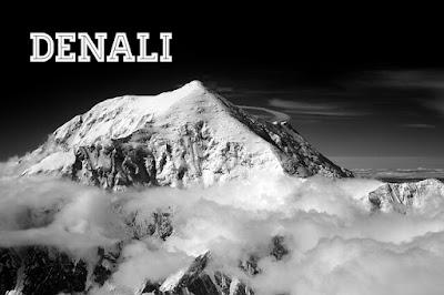 Gunung Denali di Alaska