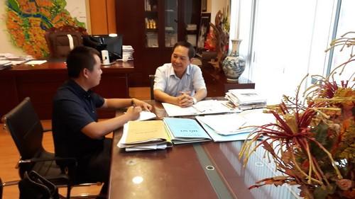 Ông Lê Vinh, giám đốc Sở quy hoạch Hà Nội