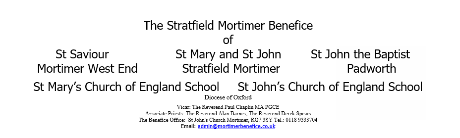 Stratfield Mortimer Benefice