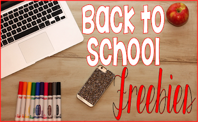 Back to School Freebies from Time4Kindergarten.com Printable resources to start the school year.