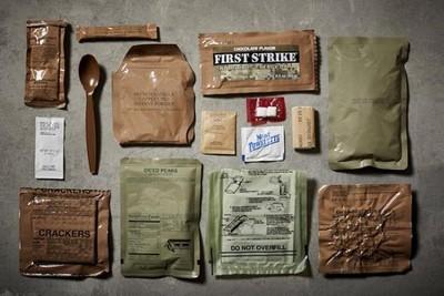 O que os soldados comem quando estão em missão