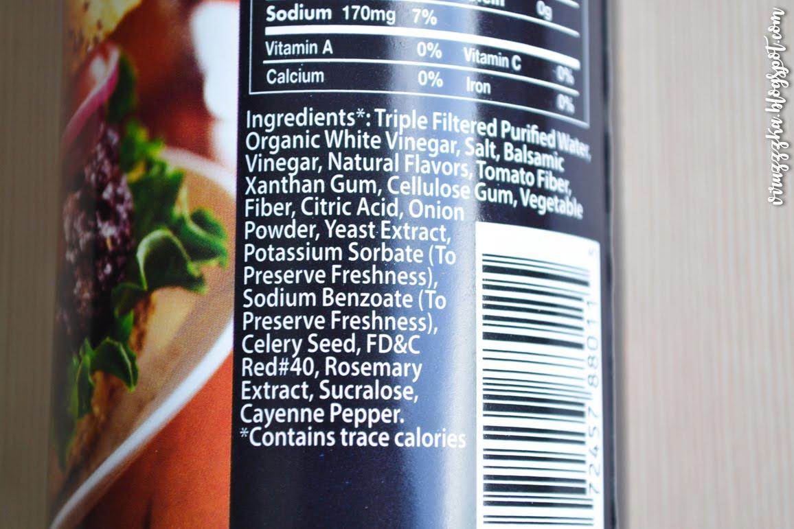 Walden Farms Calorie Free Ketchup Ingredients iHerb