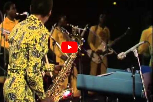 Video: Fela Anikulapo-Kuti and Egypt 80 - Beasts Of No Nation, Live at the Zenith, Paris in 1984