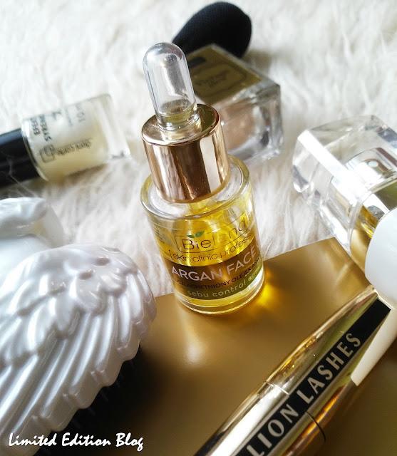 Bielenda  ARGAN FACE OIL + sebu control complex / pielęgnacja cery olejkiem arganowym