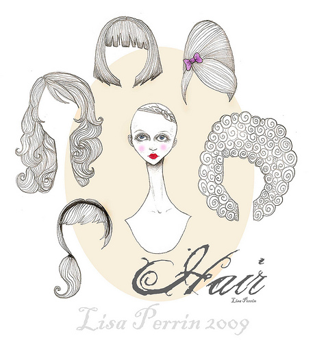 Miss Missy Paper Dolls Hats And Hair