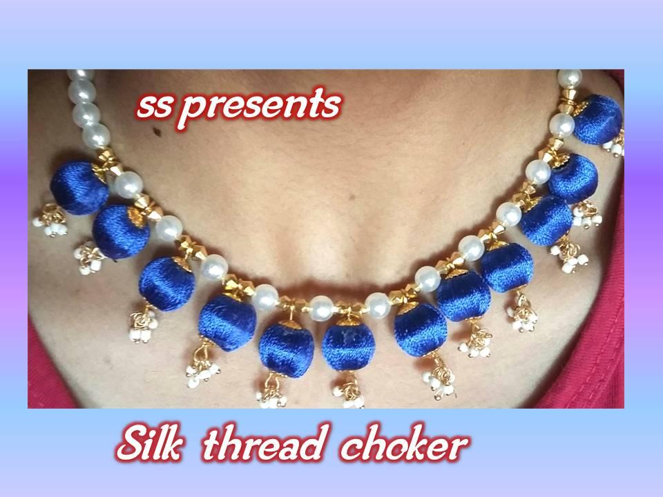 Choker Silk Thread