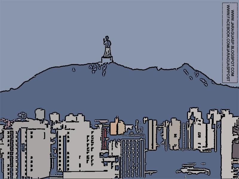 A ideia de construir uma estátua de 75 metros (praticamente o dobro da altura do Cristo Redentor) no Pico do Jaraguá, em homenagem ao São Paulo Apóstolo, começou com o marceneiro português Albino Alves de Castro, que veio para o Brasil em 1925