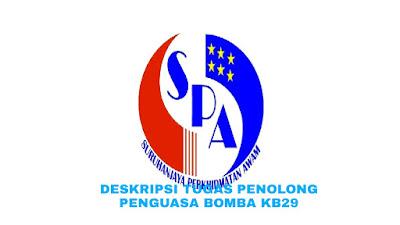 Deskripsi Tugas, Gaji dan Kelayakan Penolong Penguasa Bomba Gred KB29