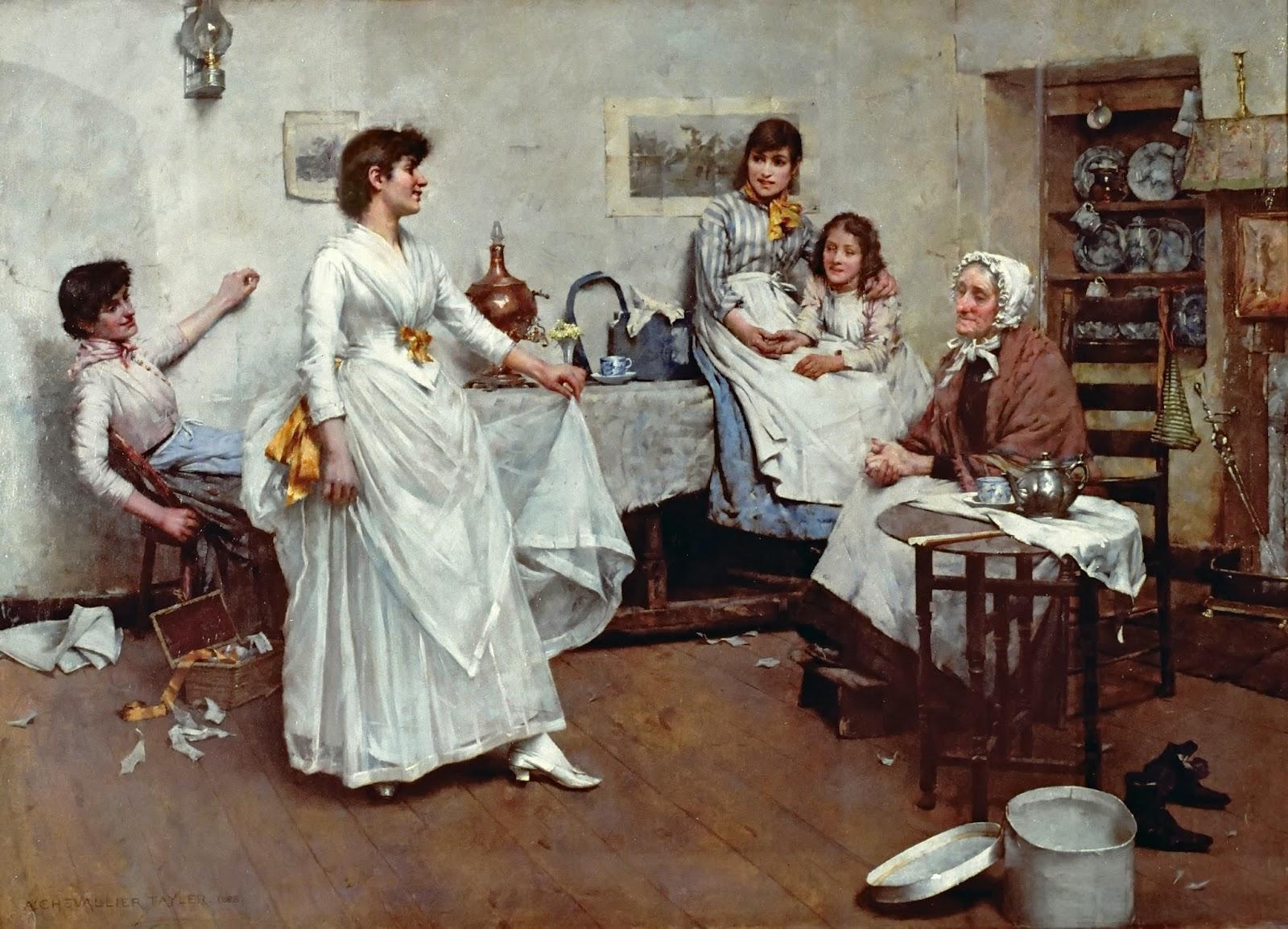Victorian British Painting Albert Chevallier Tayler