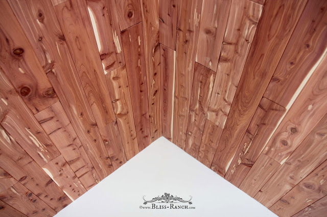CedarSafe Playhouse Ceiling, Bliss-Ranch.com