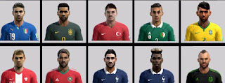 International FacePack 2016 Pes 2013 By Ben-Ameur