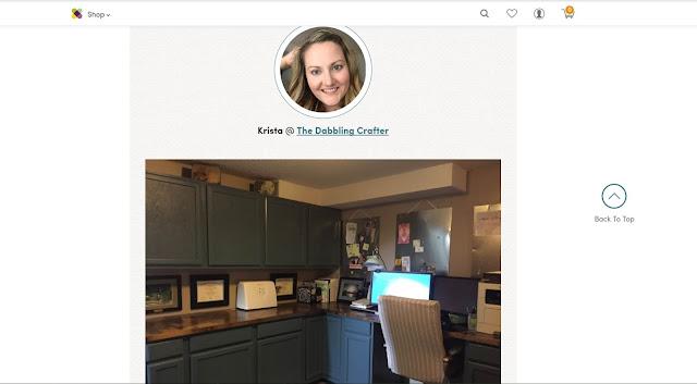 Screenshot office featured on Wayfair dot com