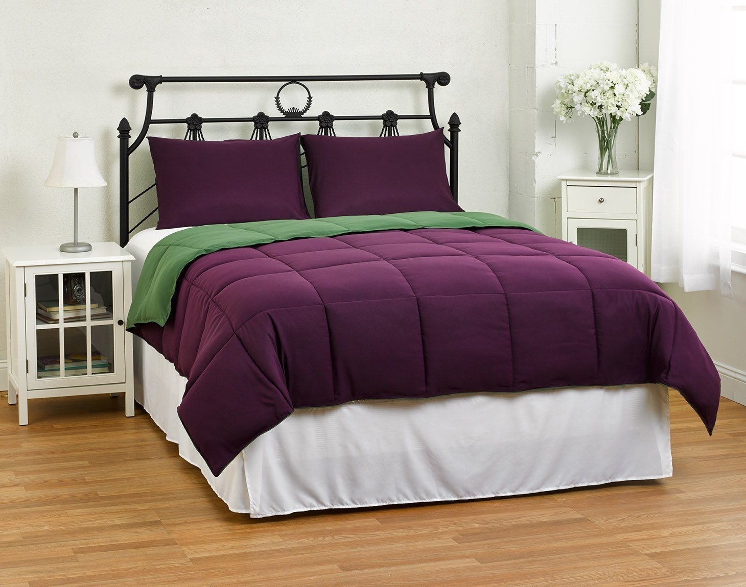 Top 28 - Purple And Green Comforter Sets - reversible ...
