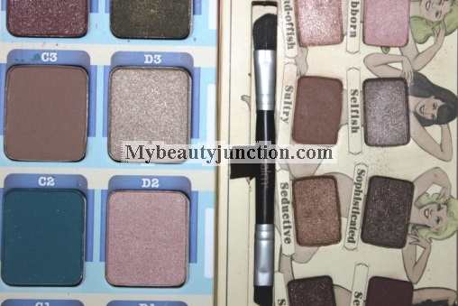 TheBalm Balm Voyage makeup palette review, swatches, photos