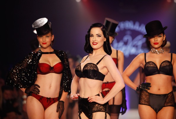 VON FOLLIES by DITA VON TEESE: ANTI-ANOREXIA COLLECTION