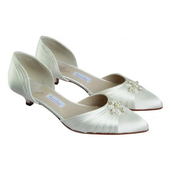 Wedding Shoes Australia: Low Heel Bridal Shoes Australia