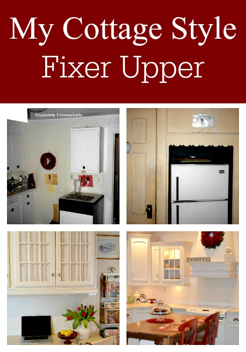 My Cottage Style Fixer Upper
