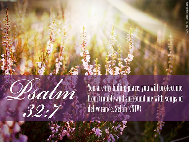 Free Desktop Psalm Bible Verse Wallpaper