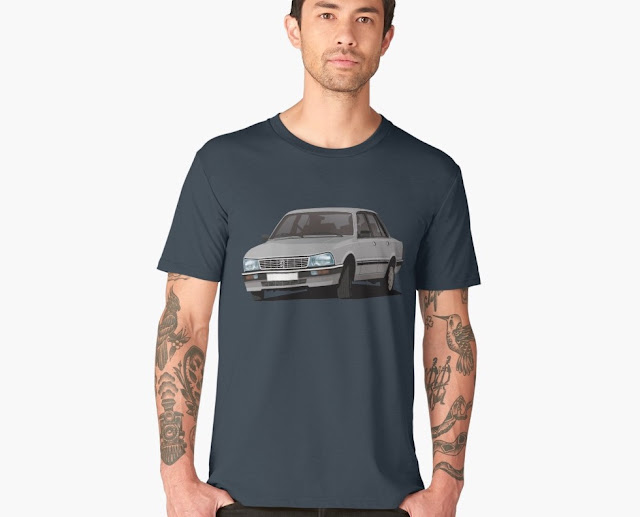 Peugeot 505 Turbo - car T-shirt