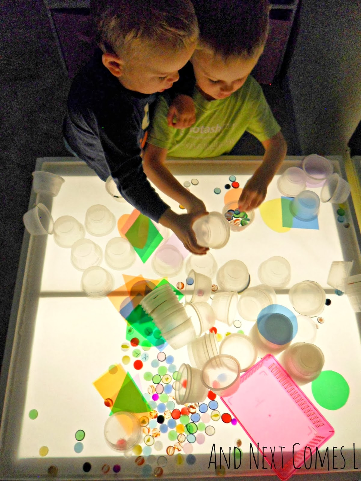 100 Light Table Activities For Kids