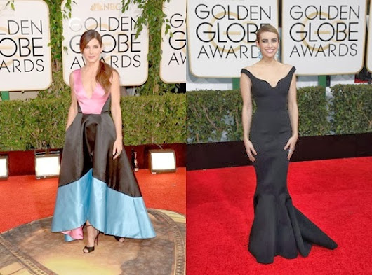 GOLDEN GLOBES 2014: TOP 10 DRESSES