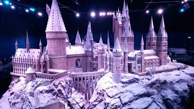 Castillo de Hogwarts, edición navidad