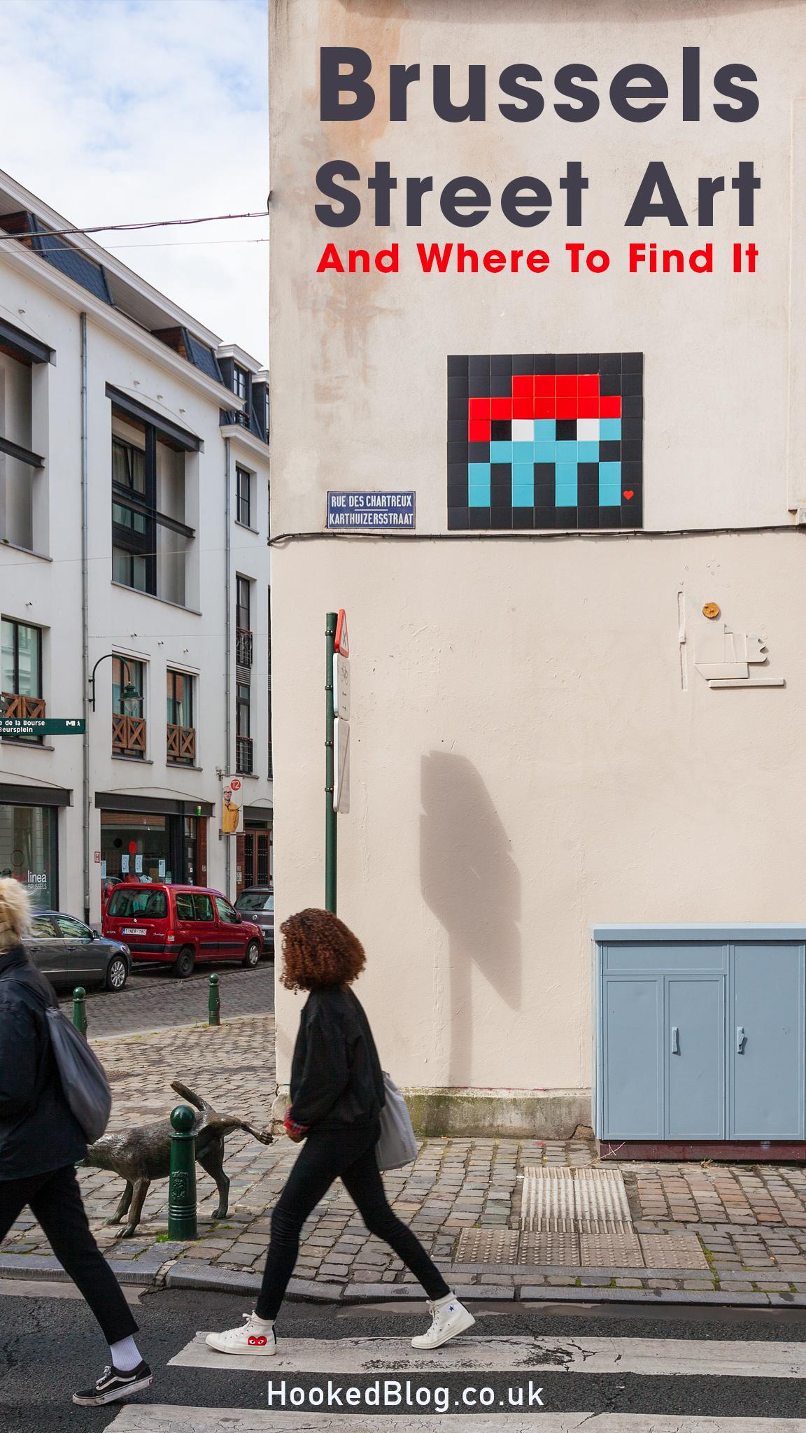 Street Art City Guide to Brussels, Belgium. #streetart #Murals #Brussels