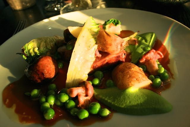 New Season Lamb with Mint and Peas