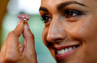Sotheby's Sells Pink Diamond Which is Pear Shaped for $32.5 Million