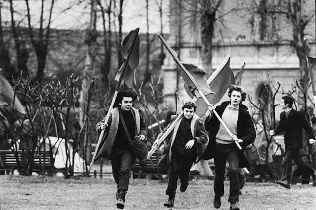 Protestas de Mayo del 68 en Francia