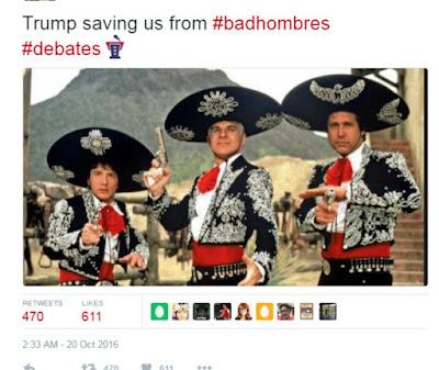 donald trump #nastywoman hashtag